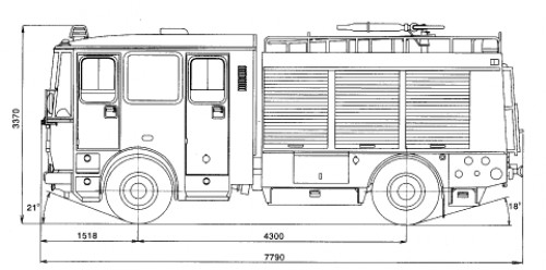 CAS K25 Liaz 101